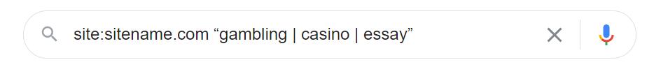 Google Check Example